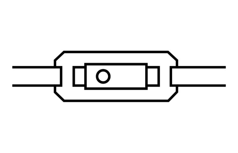 TPMS Sensor mit Bandverschluss